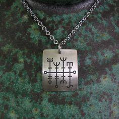 Heilla-Hnútur (Norse good-luck rune)