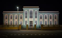 Neoclassic - Neoclassic fascist architecture in Vercelli, Piedmont / Italy.