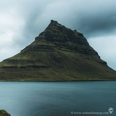 Do you still recognize it from another angle? Kirkjufell in Snæfellsnes, west Iceland. Tag a friend who might be interested! West Iceland, Iceland Landscape, Volcano, Amazing Nature, Close Up, Picture Video, Northern Lights, Portraits, Tours