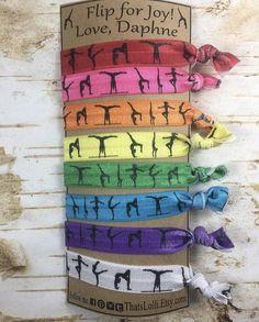 Gymnastiek regenboog Turnen vouw over elastische vijand haar