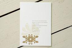 PInky from Helsinki Letterpress Wedding Invitations