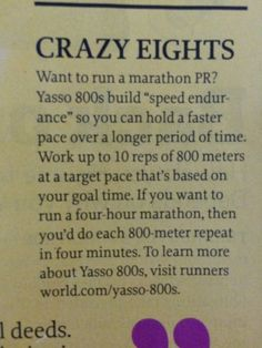 For major goal of 2017...A 20 minute 5k!!!! Yasso 800s