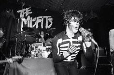 The Misfits playing Halloween 1979.