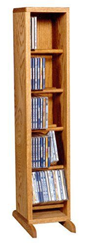 All our lines of solid oak CD storage racks, DVD storage racks, vhs and cassette storage racks, Bookcases and wall mount units are made with the same attention to detail and quality as the fine pieces of furniture that has brought our family fame for over six generations. Our units will allow... more details available at https://furniture.bestselleroutlets.com/game-recreation-room-furniture/tv-media-furniture/media-storage/product-review-for-the-wood-shed-506-c-solid-oak-cd-c
