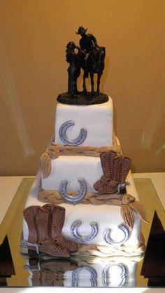 Western+Theme+Wedding+Cake | Cool Cakes | Pinterest | Best Western ...