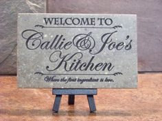 Custom Wedding Family Established Plaques and Address Signs