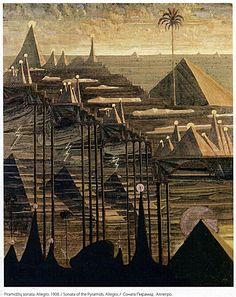 Mikalojus Ciurlionis - Sonata of the Pyramids (1909)