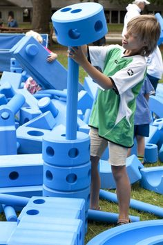 great flexible play equipment by Imagination Playground