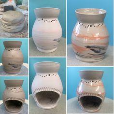 Wax Melts, Vase, Ceramics, Home Decor, Ceramica, Pottery, Decoration Home, Room Decor, Ceramic Art