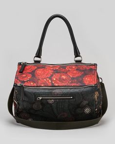 Givenchy Pandora Medium Multi-Print Satchel Bag - Bergdorf Goodman