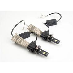 QB2 H7 Car LED Headlight angle 360 High light 20W 3000LM DC12V-24V 6500K ETI Chip