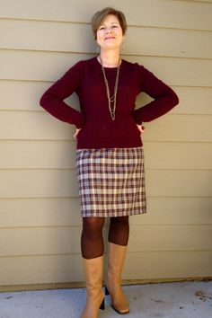 Great outfit by Barbara on The Sew Weekly