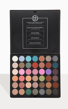 The Bh Cosmetics Ultimate Artistry 42 Color Palette. Head online and shop this season's range of beauty at PrettyLittleThing. Makeup Sale, Cheap Makeup, Makeup To Buy, Bh Cosmetics Palette, Eyeshadow Palette, Body Makeup, Makeup Kit, Beauty Makeup, Gift Sets For Her
