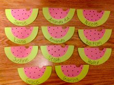 WATERMELONS door decorations!!