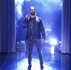 Seth Rollins will be on the Tonight Show! With tonight! Wwe Seth Rollins, Seth Freakin Rollins, Bmx Cycles, Wwe Pictures, Dolph Ziggler, Wwe World, Wwe Champions, Cm Punk, Royal Rumble
