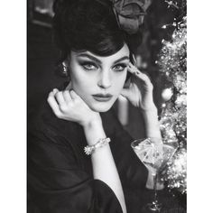 Sofia Sanchez Mauro Mongiello Lens Jessica Stam in 'Soy Cuba' for... ❤ liked on Polyvore