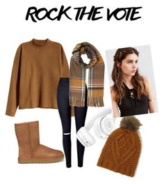 """""""🍂🍁 Get the fall look 🍁🍂"""" by milly237 on Polyvore featuring H&M, UGG, Miss Selfridge, Beats by Dr. Dre, Lavish Alice and REGALROSE"""