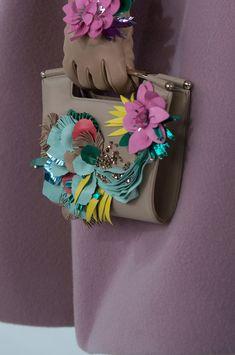 Delpozo tote handbag at New York Fall 2016 (Details)