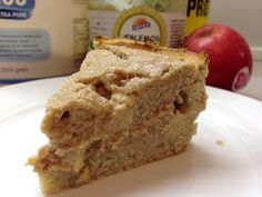 Low carb protein apple pie