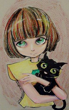 Fran bow?is that the name of her and the game?is creepy