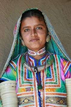 Tribe woman, India
