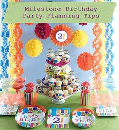 Tips for throwing milestone birthday parties. Ideas for 18th, 21st, 30th, 40th, 50th, 60th, 70th, and 80th birthday parties!