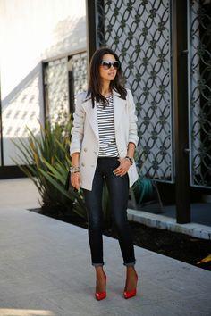 VivaLuxury - Fashion Blog by Annabelle Fleur: SUNSHINE & STRIPES - DAY 2 IN SAN DIEGO