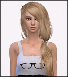 My Sims 4 Blog: David Sims Tell Me Hair Retexture by Simista