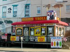Ollie's Trolley, One of the best burgers & fries I've ever eaten. I know of three still in operation. Louisville, Ky, Cincy, Oh, Washington, DC