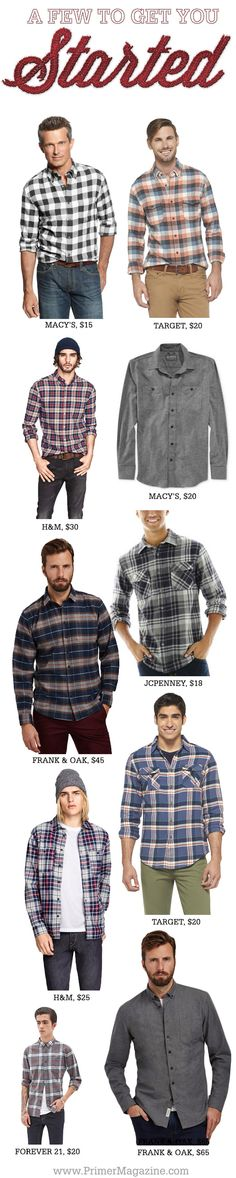 An Introduction to Flannel + 11 Shirts to Get You Started - Primer