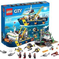 LEGO City_60095_Deep Sea Exploration_717 pcs/pzs_Brand New Sealed Set #LEGO #Korea #60095 #Deep #Sea #Exploration #New