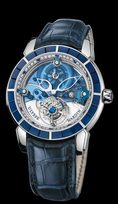 799-90BAG - Royal Blue Tourbillon Haute Joaillerie - Exceptional - Welcome to the Ulysse Nardin collection - Ulysse Nardin - Le Locle - Suisse - Swiss Mechanical Watch Manufacturer