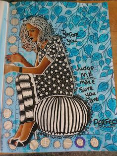 Red Kitty B Creates: Art Journaling = Inner Peace part 2