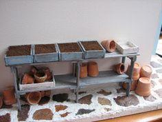Mine dukkehuse: Så- og plantetid i sommerhuset.