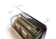 YANARA TECHNOLOGIES - AIRLINE PILOT CASE | 2012 on Behance Airline Pilot, Trolley Case, Best Travel Accessories, Industrial Design Sketch, Hand Sketch, Carbon Fiber, Sketches, Technology, Behance
