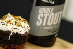 Double Stout S'more Cupcakes