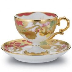 Teacup of extraordinary beauty.