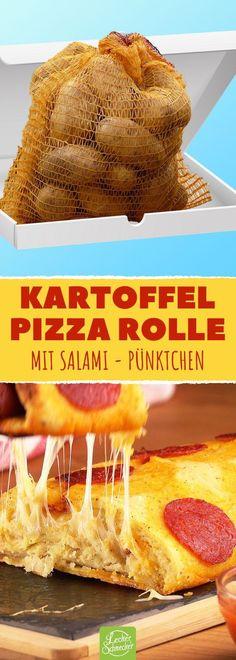 Wir machen aus Kartoffelbrei Pizza. Endgenial! #rezept #rezepte #mittagessen #abendessen #kochen #kartoffelpizza #kartoffeln #pizza