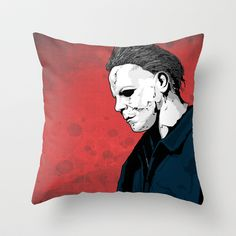MM Throw Pillow by Doktorsour - $20.00