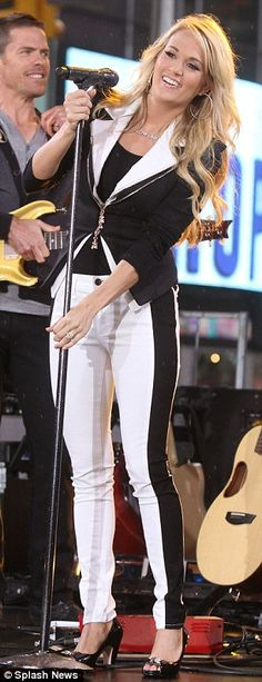 Carrie Underwood on Good Morning America April 2012 #CarrieUnderwood