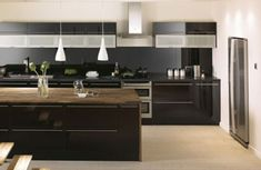 cozinhas pretas interiordecorado