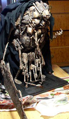 Gravelord Nito Sculpture by futantshadow