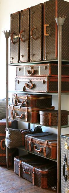 Luxury Louis Vuitton Luggage Collection