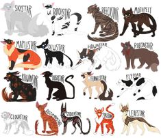 Warrior Cats by Draikinator on DeviantArt Warrior Cats Fan Art, Warrior Cats Series, Warrior Cats Books, Warrior Cat Drawings, Cat Character, Character Design, Serval Cats, Owning A Cat, Cats Diy