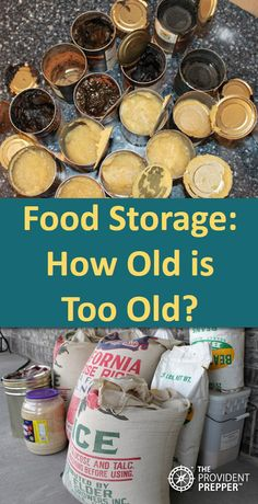 Your stored foods may be safe to eat much longer than you might think. One excuse we frequently hear for not storing food for emergencies… Emergency Preparedness Food Storage, Emergency Preparation, Survival Food, Disaster Preparedness, Survival Prepping, Prepper Food, Wilderness Survival, Food For Emergencies, Survival Skills