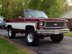 1975 Chevy Blazer (with a 73-74 grille)