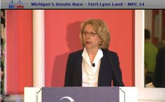 Video On Demand: Michigan's Senate Race - Terri Lynn Land  Senate Candidate Terri Lynn Land's opening remarks at the Political Action Committee Reception  #MackinacPolicyConference2014 #MPC2014 #TerriLynnLand #MichiganSenateRace