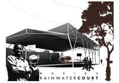 Mahiga Hope High School Rainwater Court, Nyeri Kenya, by Dick Clark Architecture. Architecture for Humanity - Archute