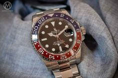 "Monochrome Watches Reviews the Rolex GMT-Master II ""Pepsi Bezel""  |   WatchTime - USA's No.1 Watch Magazine"