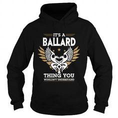 I Love  BALLARD T shirts